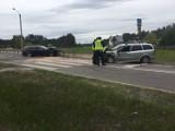 Wydmusy. Wypadek na drodze krajowej nr 53, 30.05.2020. Zdjęcia