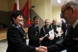 Promocja nowej książki o OSP na strażackiej wigilii w gminie Golub-Dobrzyń [zobacz zdjęcia]