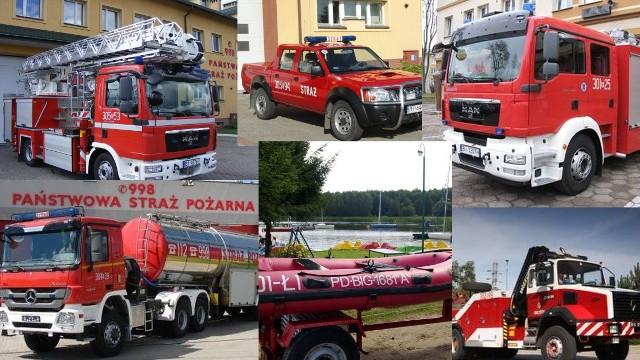Dzień Strażaka obchodzony jest 4 maja. Z tej okazji przygotowaliśmy zestawienie pojazdów i sprzętu, którym posługują się na co dzień białostoccy i łapscy strażacy.