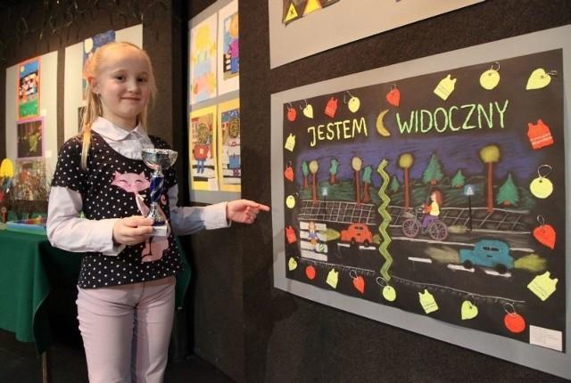 ze Szkoły Podstawowej nr 29 w Białymstoku zajęła pierwsze miejsce w kategorii klas drugich.