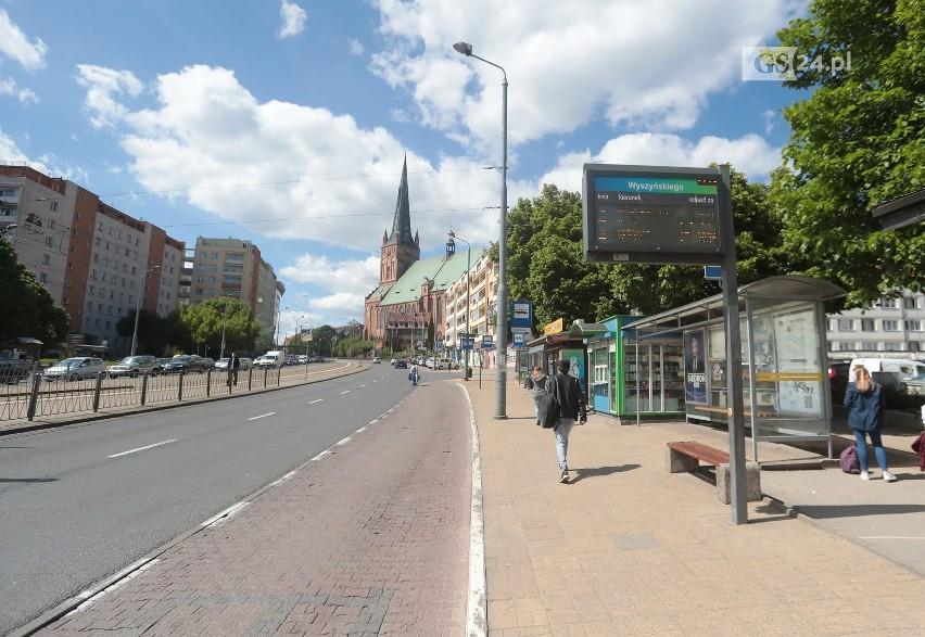 """Rusza przebudowa węzła """"Wyszyńskiego"""" w Szczecinie. Zmiany w komunikacji miejskiej - 20.05.2020"""