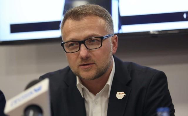 Prezes ŁKS Łódź: - Nie wywieramy presji na sztab szkoleniowy