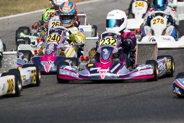 Wrocławianin Bartosz Mila (nr 250) został mistrzem świata w kartingowej serii Rok Cup. Pokonał 80 zawodników z całego świata