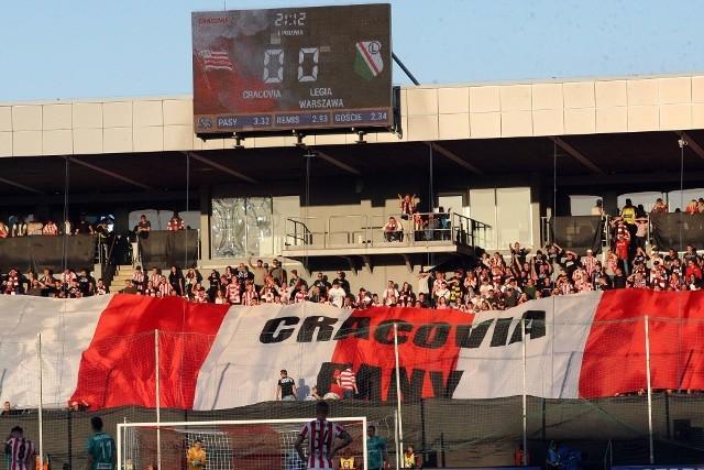 Piłkarze Cracovii na własnym stadionie przegrali z Legią Warszawa 1:2. Zobaczcie zdjęcia!