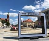 Dumni z Białegostoku. Wróciła ramka na Rynku Kościuszki. Można ponownie robić sobie selfie (zdjecia)
