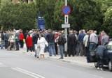 Kolejki przed NBP w Szczecinie. Monety Euro 2012 hitem! [zdjęcia]