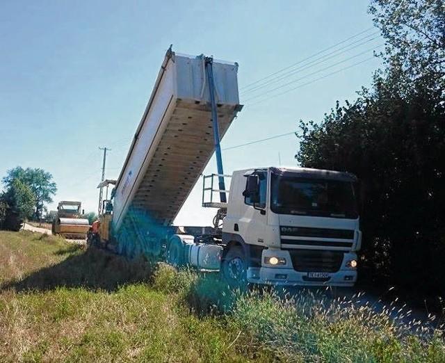 Prace remontowe w Szczepanowicach