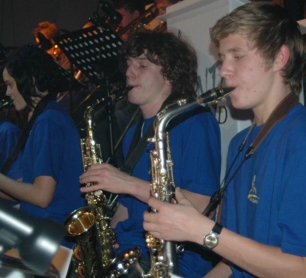 Wind Band tworzą najzdolniejsi uczniowie szkoły muzycznej.