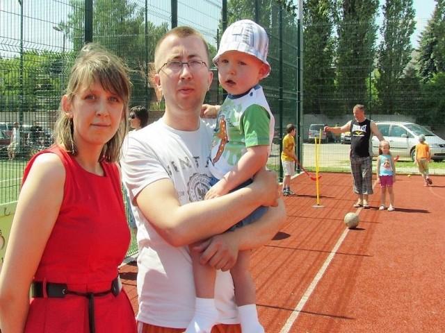- Dziękujemy wszystkim, którzy zaangażowali się w pracę przy turnieju oraz wszystkim, którzy uczestniczyli w tym wydarzeniu - mówią Agnieszka i Artur, rodzice Olka Pesty
