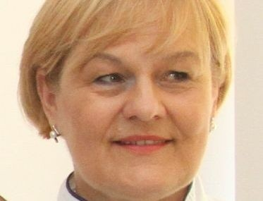 Doktor Grażyna Pazera, neonatolog  z Wojewódzkiego  Szpitala Zespolonego w Kielcach.
