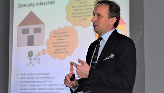 Zenon Różycki, prezes MPGN w Grudziądzu
