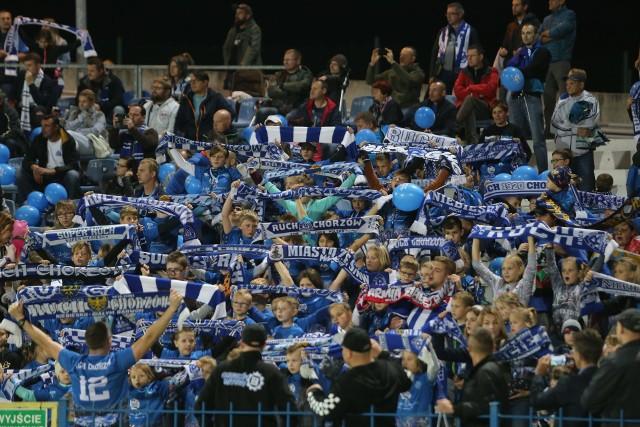 Ruch Chorzów rozgromił u siebie Resovię aż 5-1. Zwycięstwo Niebieskich oglądało z trybun niespełna pięć tysięcy kibiców