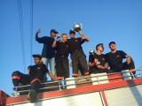 OSP Chudoba ponownie wygrała powiatowe zawody strażackie