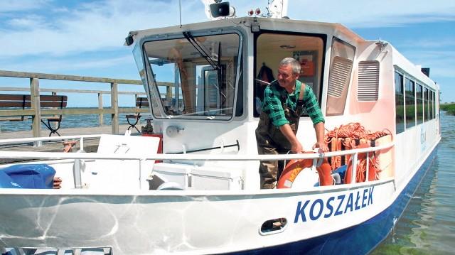 Koszałek pływa co sezon po Jamnie od ponad dziesięciu lat, bo od wakacji 2009 roku, i nadal będzie pływał, natomiast nowy statek będzie uzupełnieniem oferty MZK Koszalin