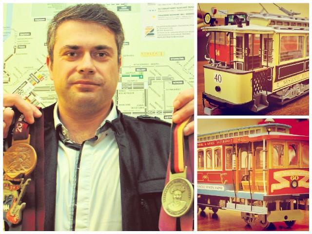 Każdy ukończony maraton to pamiątkowy medal. Rafał Grzegorzewski ma już sześć takich.