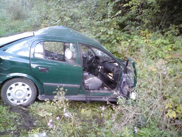 Wypadek na obwodnicy Ostrowi - 3 osoby w szpitalu