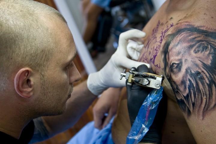 Studio Tatuażu łysy Tatoo Tygodnik Ostrołęcki