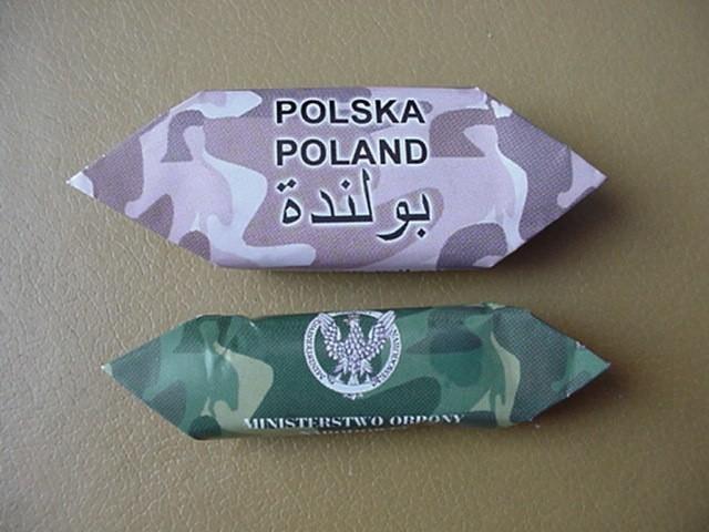 """Takich cukierków używają w Iraku polscy żołnierze w celach """"propagandowych""""."""