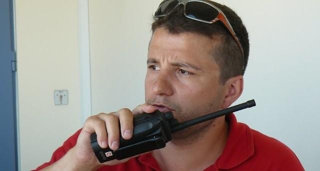 Jarosław Włodarczyk jest ratownikiem od 13 lat.