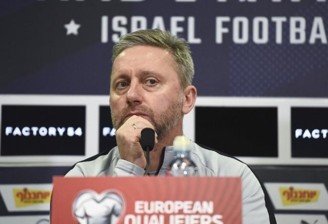 Trener pierwszej reprezentacji Polski Jerzy Brzęczek