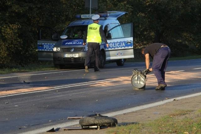 Poznań: Śmiertelny wypadek motocyklisty na ul. Lutyckiej