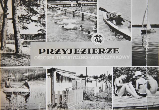 Tak wyglądało Przyjezierze na starych, czarno-białych pocztówkach