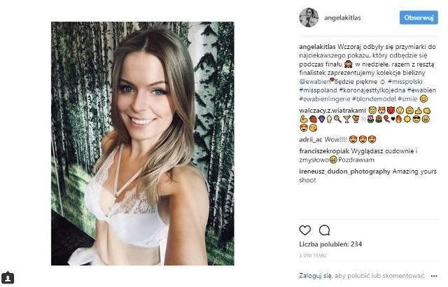 Angelika Kitlas znalazła się w gronie 24 najpiękniejszych Polek walczących o tytuł Miss Polski 2017. Za białostoczankę będziemy trzymać kciuki podczas finałowej gali, która odbędzie się już w niedzielny wieczór, 3 grudnia. Zobaczcie, jak wyglądały ostatnie tygodnie podlaskiej kandydatki.Rozmowa Współczesnej. Angelika Kitlas w roli głównej (wideo)