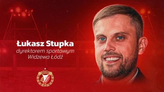 Łukasz Stupka został dyrektorem sportowym Widzewa
