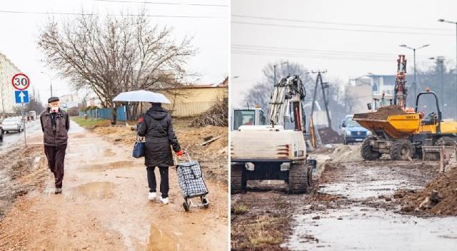 Budowa linii tramwajowej z Krowodrzy Górki na Górkę Narodową wiąże się z dużymi utrudnieniami. Mieszkańcy terenów sąsiadujących z placem budowy narzekają na błoto i brud.