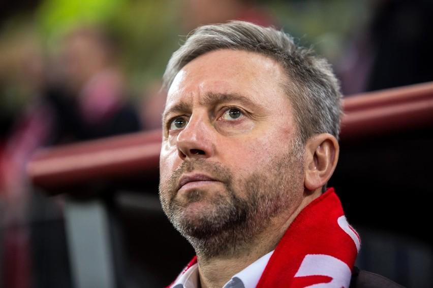 Trener Jerzy Brzęczek