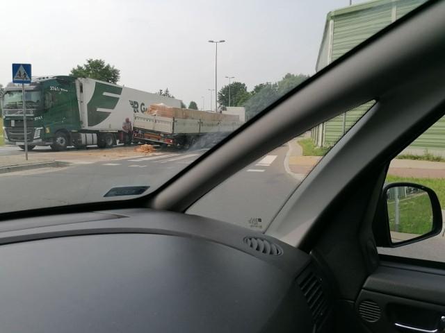 Zablokowana ulica Przędzalniana