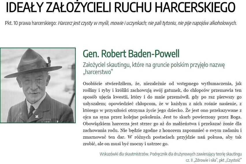 Autorzy petycji powołują się na cytaty z Roberta...