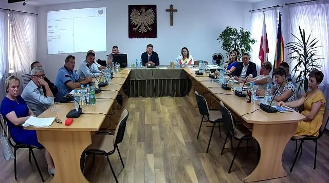 Rada Gminy zebrała się w Wąsewie 12 sierpnia