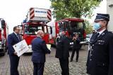 Szczecin. Dodatkowe wsparcie dla strażaków ochotników na zakup nowego sprzętu. ZDJĘCIA i WIDEO