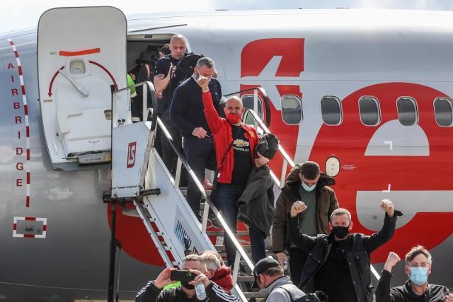 Do Gdańska w środę, 26 maja na finał Ligi Europy przyleciało prawie 2 tysiące kibiców z Wielkiej Brytanii