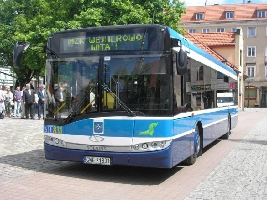 Zapowiedzi po kaszubsku można usłyszeć w autobusach jeżdżących po Wejherowie