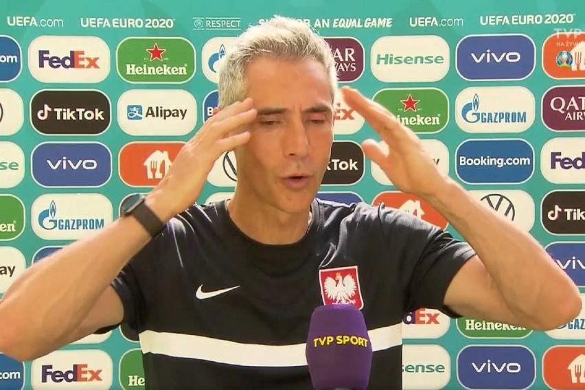 Paulo Sousę zdenerwowało pytanie zadane przez dziennikarza.