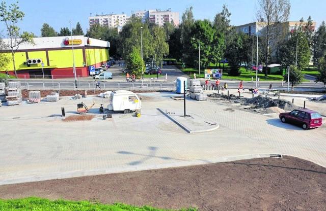W tym miesiącu ma zostać oddany do użytku parking w Kurdwanowie