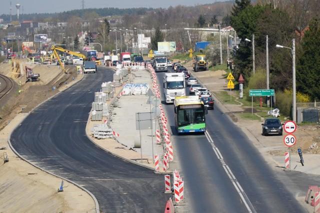 Przebudowa ul. Gdyńskiej trwa od października ubiegłego roku