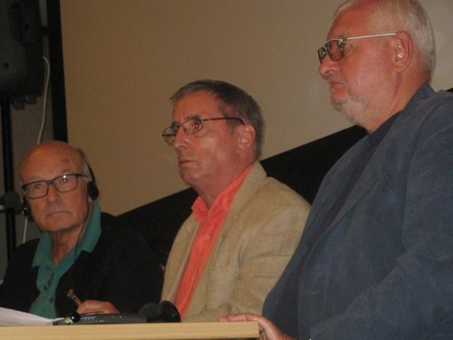 Janusz Zaorski i Volker Schloendorff (z lewej) to twórcy dwóch głośnych filmów o historii.