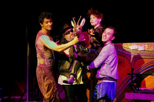 """""""The Monstrum Band"""" to wspólny spektakl Grupy Coincidentia i Teatru Lalki i Aktora """"Kubuś"""""""
