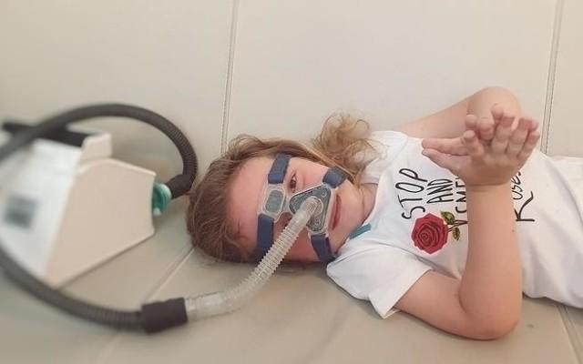 Natalka choruje na SMA1 – zanik mięśni postać wczesno-dziecięca
