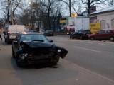 Zderzenie czterech aut na Łąkowej [ZDJĘCIA]