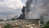 Wrocław: Pożar w Hutmenie przy Grabiszyńskiej. Było realne zagrożenie wybuchem (FILMY, ZDJĘCIA)
