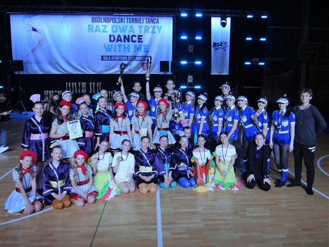 Dziecięco-Młodzieżowa Grupa Estradowa z Rypina odniosła kolejny duży sukces