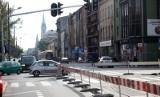 Znów zmiany w ruchu w centrum Łodzi! Piotrkowską inaczej, zmiany na Piłsudskiego i Wigury [zdjęcia]
