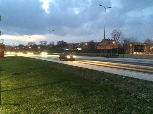 Zima postraszyła kierowców na DTŚ