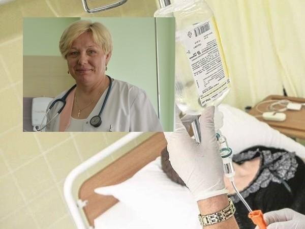Spotyka się z byłym pacjentem