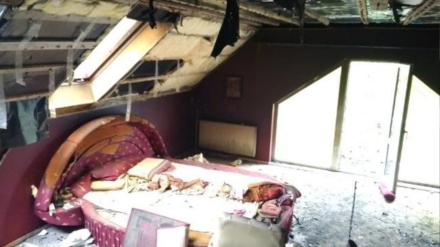 W Radlinie od pioruna spłonęła część domu. Trwa zbiórka pieniędzy na odbudowę.Zobacz kolejne zdjęcia. Przesuwaj zdjęcia w prawo - naciśnij strzałkę lub przycisk NASTĘPNE