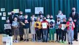 Zdolni uczniowie namalowali walkę z pandemią. Konkurs plastyczny w gminie Tuczępy rozstrzygnięty [ZDJĘCIA]
